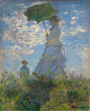 Woman with Parasol (Monet) Posters at AllPosters.com