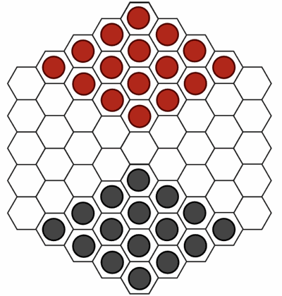 Checkers hex