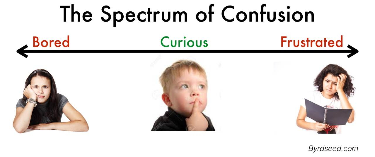 spectrum of curiosity