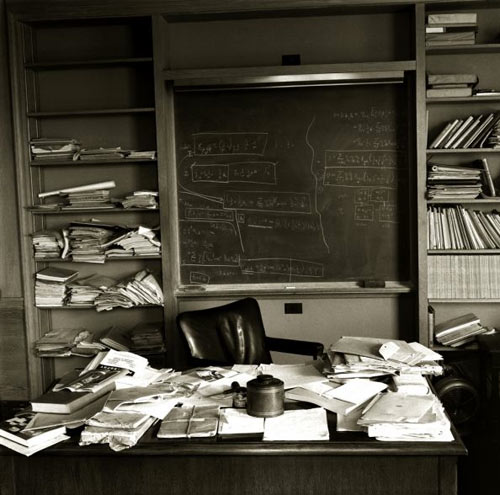 A Mess On Einstein's Desk