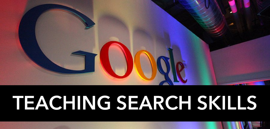 Teach students to search Google correctly