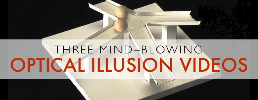 Three Videos With Mind-Blowing Optical Illusions