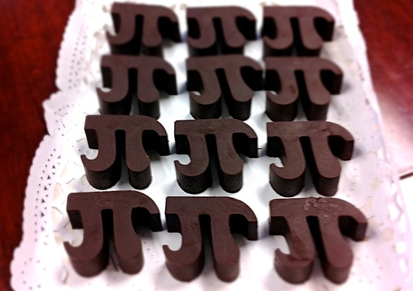 Pi chocolate